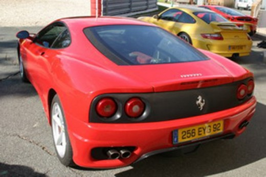 stage pilotage ferrari modena 360 7 tours de circuit. Black Bedroom Furniture Sets. Home Design Ideas