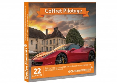 Coffret cadeau pilotage | Golden Moments