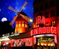 Spectacle et Menu Pesco  Vegetarien - Moulin Rouge