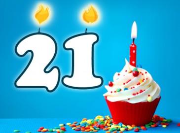 cadeau anniversaire 21 ans