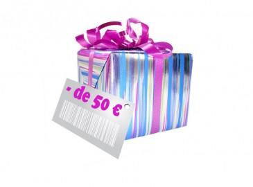 cadeau anniversaire femme 50 euros
